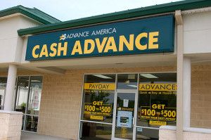 Payday loans are illegal in some states.
