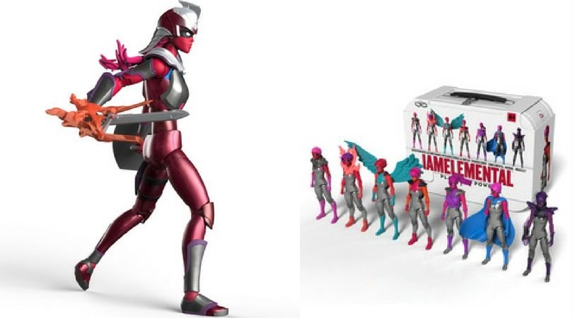 Hiiiii-YA! Female Action Figures Join the Battle Against Children's Cancer