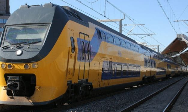 A Clean Commute: Dutch Electric Trains Now Run on 100% Wind Energy