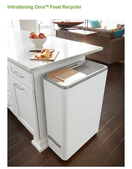 Whirlpool Corporation offers Zera Food Recycler on Indiegogo.