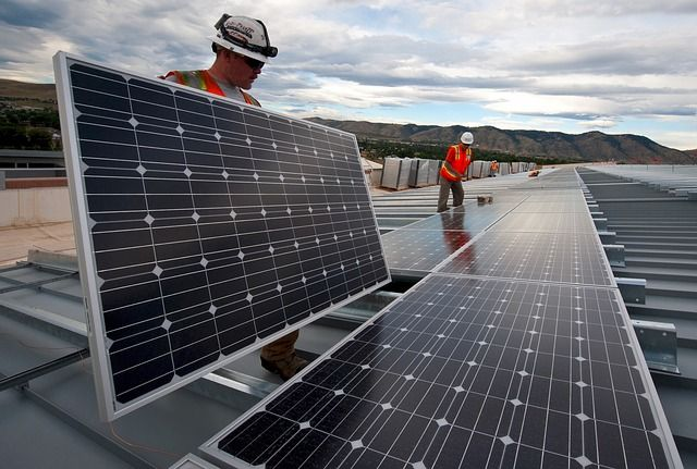Solar power increased in 2016.