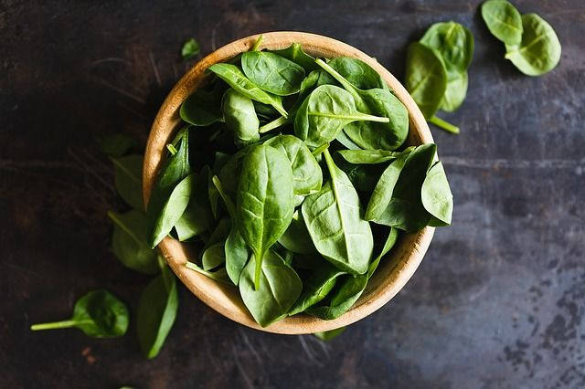 Dark green vegetables have protein, too.