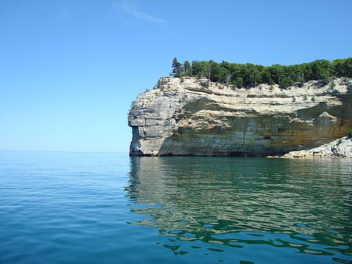 Pictured Rocks, Michigan.