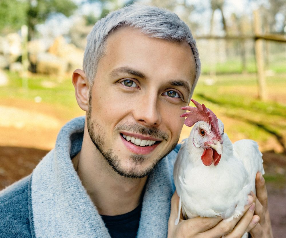 Mercy for Animals Founder Nathan Runkle