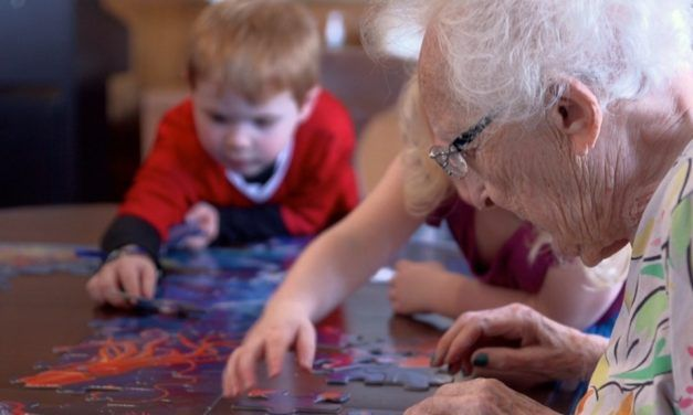 Preschool Inside Retirement Home Brings Joy To Kids And Seniors Alike