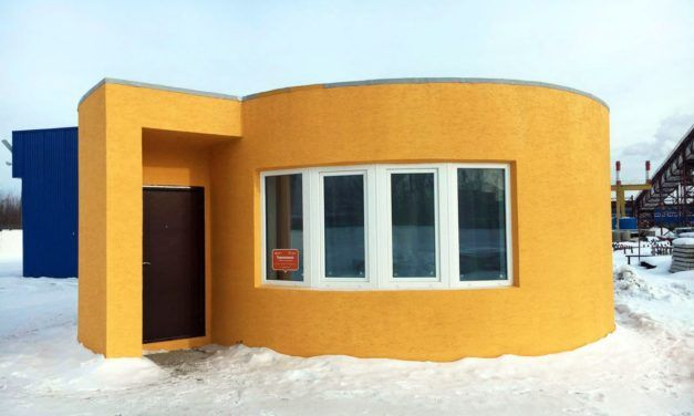 Check Out the World's Newest Affordable 3D Printed House
