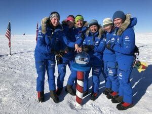 all female team cross antartctica without sled dogs