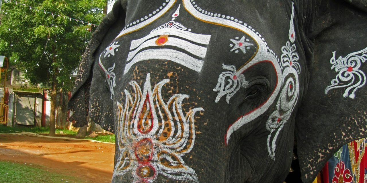 This Indian Temple is Sparing Elephants by Replacing them with Beautiful Wooden Jeevathas