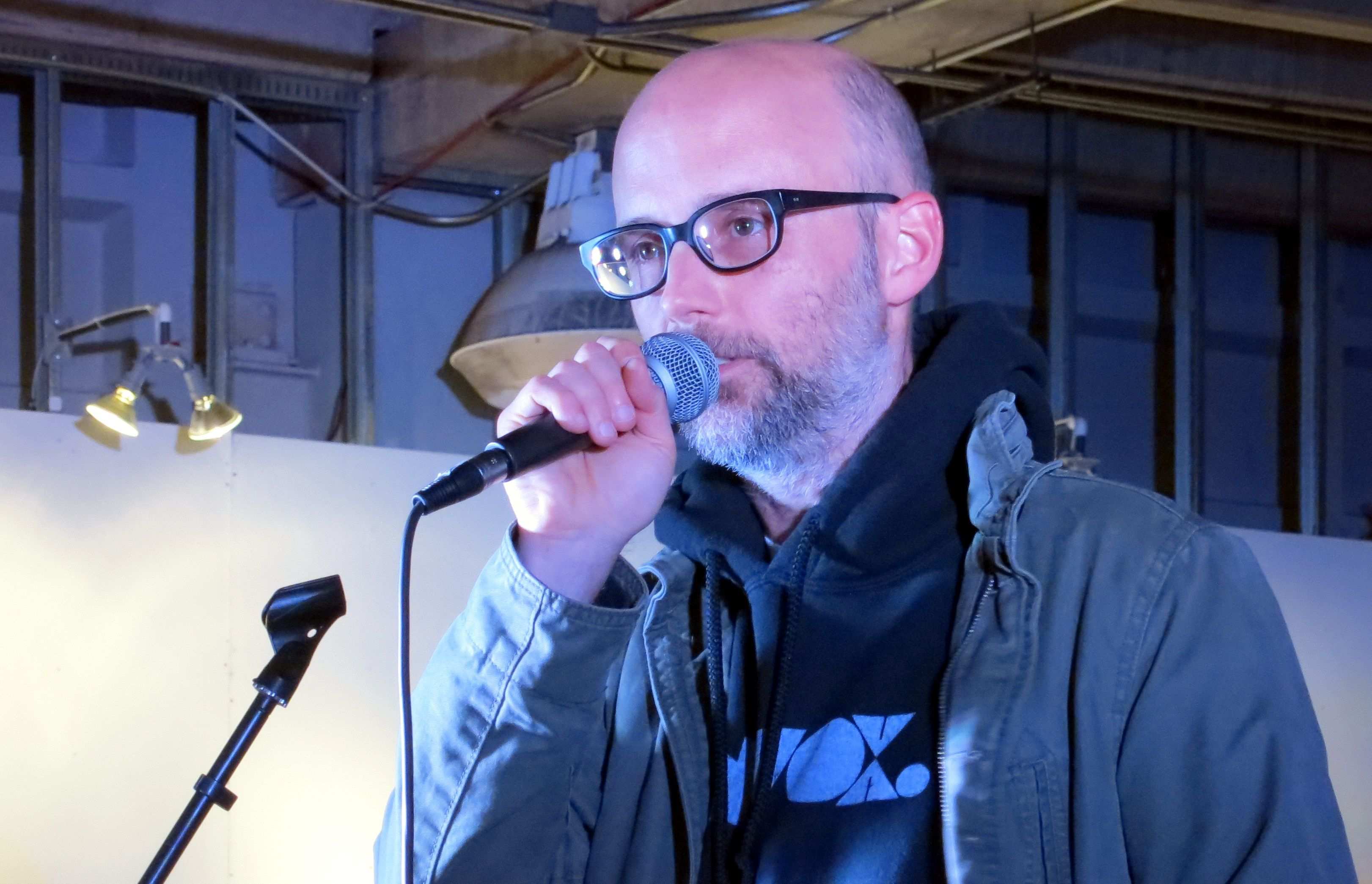Moby speaking out about activism