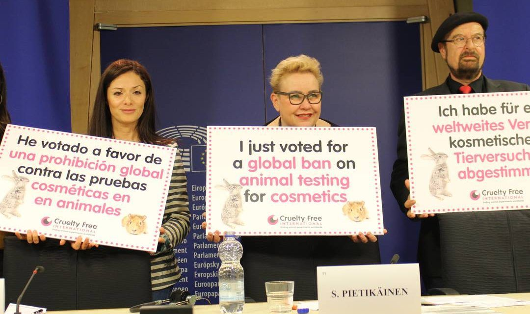 EU Parliament Passes Resolution for Worldwide Ban On Animal Cosmetics Testing