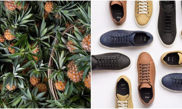 Hugo Boss Launches Vegan Shoes Made with Pineapple Leather