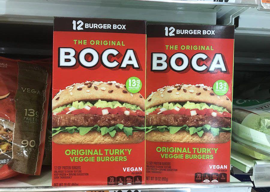 BOCA Launches All-Vegan 'Turkey' Burger