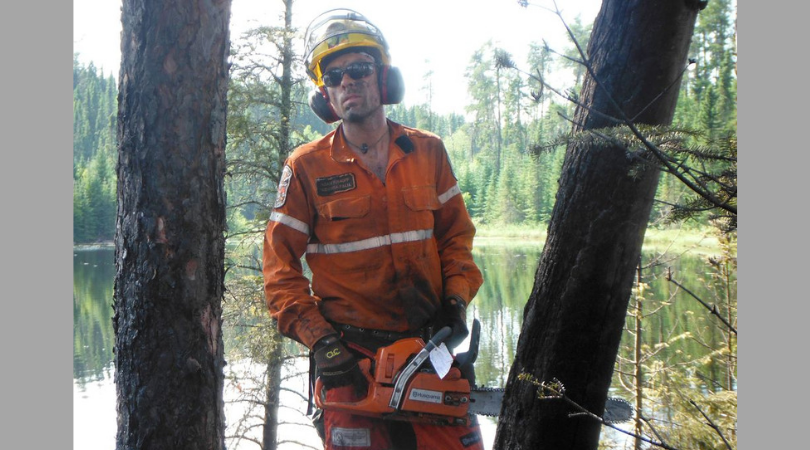 Vegan Firefighter Denied Proper Nutrition While Fighting Massive Blaze