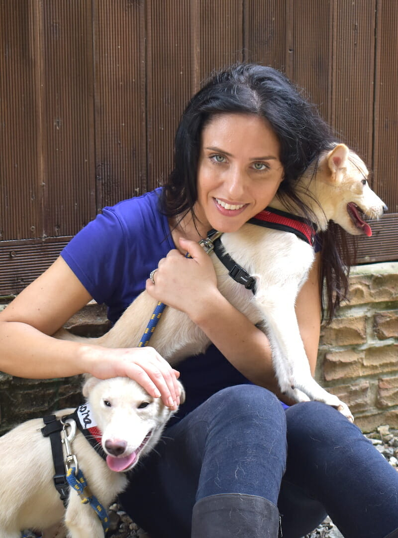 Nina Jackel Lady Freethinker korea dog meat rescue