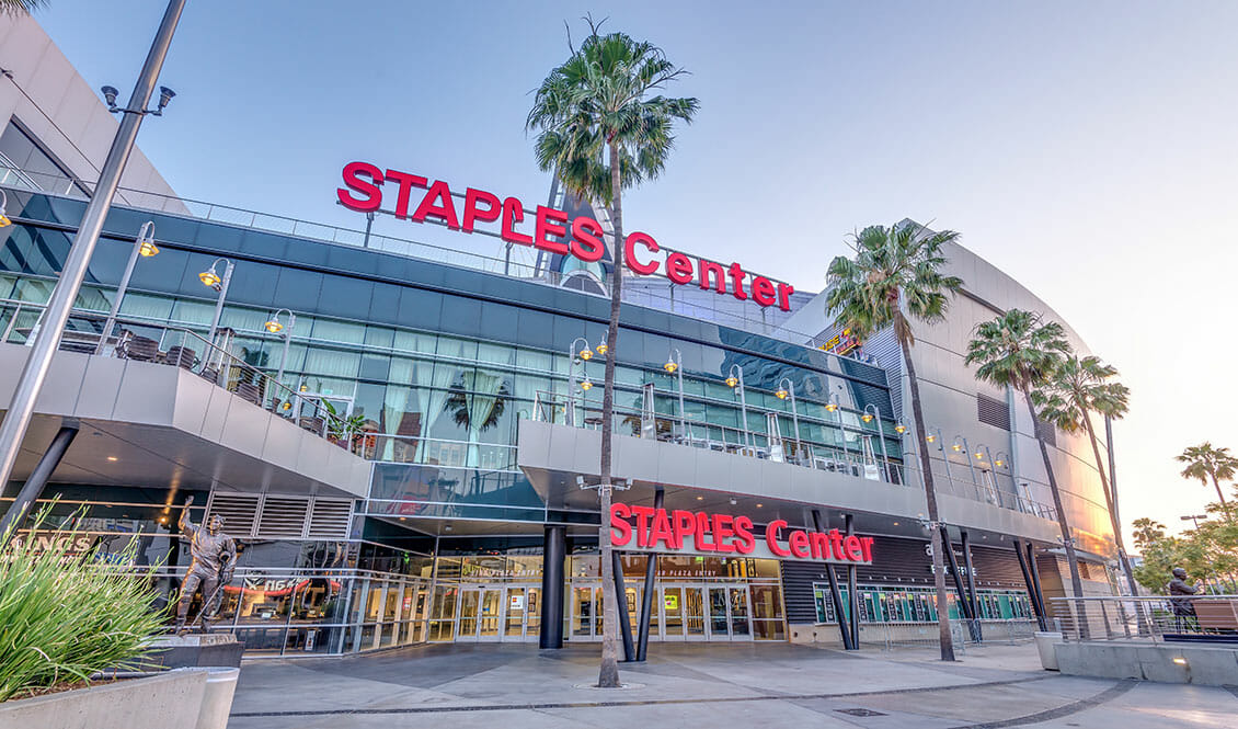 The Staples Center in Los Angeles hosted the 1st Annual Animal Heroes' Event, organized by Lady Freethinker.
