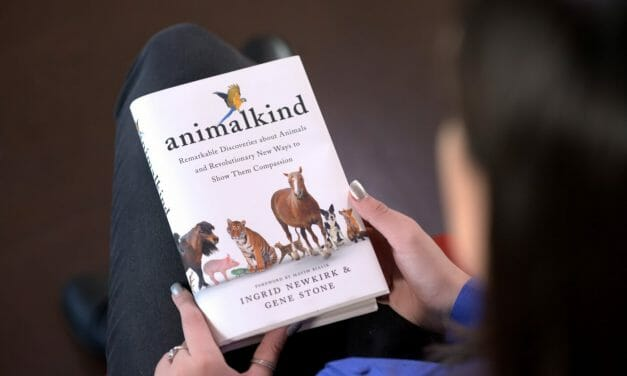 PETA's Ingrid Newkirk On Her New Book, 'Animalkind' – And How We Can All Help End Animal Suffering
