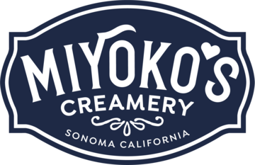 The Miyoko's Creamery logo. Miyoko's was a sponsor of the 1st Annual Animal Heroes' Event, organized by Lady Freethinker.