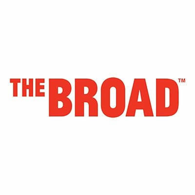 The logo of The Broad. The Broad was a sponsor of the 1st Annual Animal Heroes' Event, organized by Lady Freethinker.