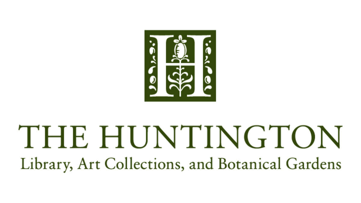 The Huntington Library logo. The Huntington was a sponsor of the 1st Annual Animal Heroes' Event, organized by LFT.