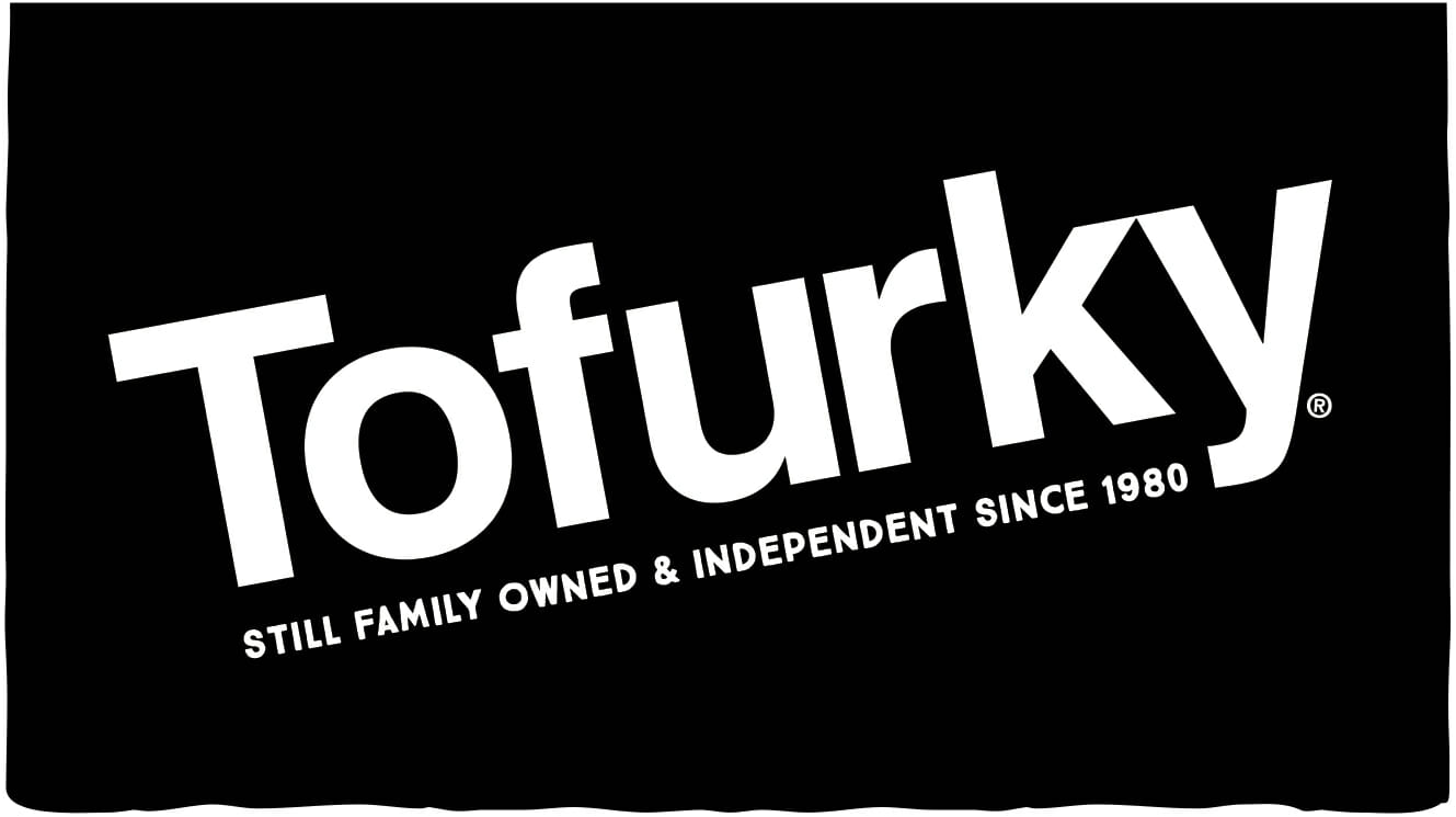 The Tofurky logo. Tofurky was a sponsor of the 1st Annual Animal Heroes' Event, organized by Lady Freethinker.