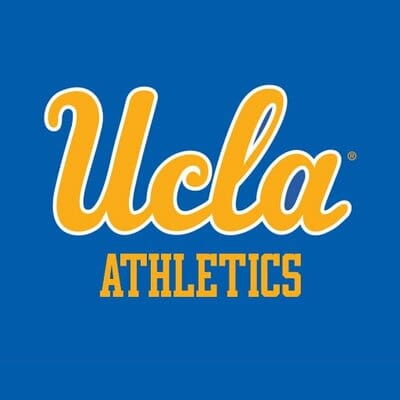 The UCLA Athletics logo. UCLA Athletics was a sponsor of the 1st Annual Animal Heroes' Event, organized by Lady Freethinker.