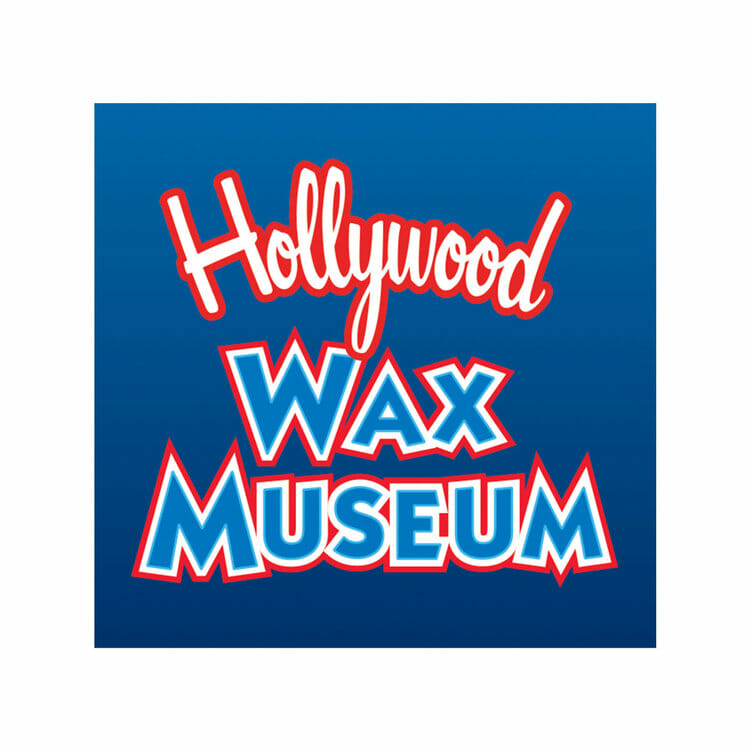 The Hollywood Wax Museum logo. The Hollywood Was Museum was a sponsor of the 1st Annual Animal Heroes' Event.
