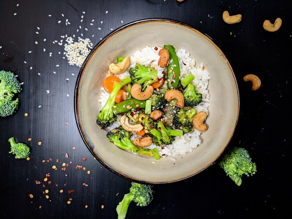 broccoli and garlic sauce