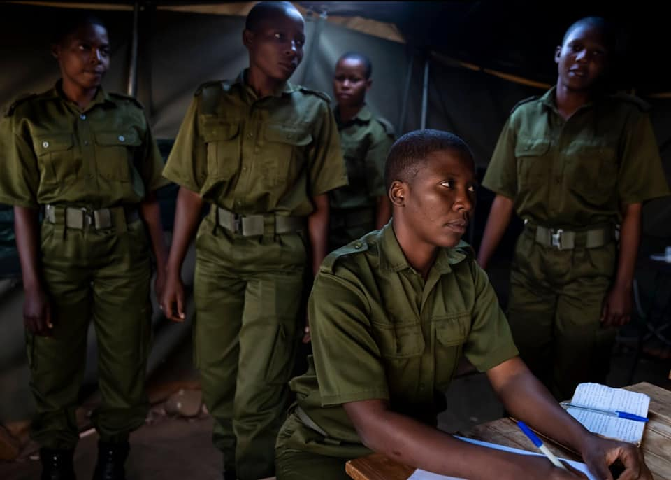 Akashinga anti-poaching women