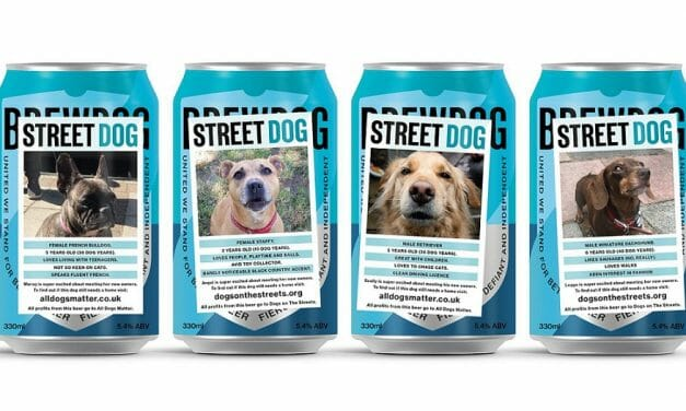 Ricky Gervais and BrewDog Are Helping Strays with New 'Street Dog' Beer