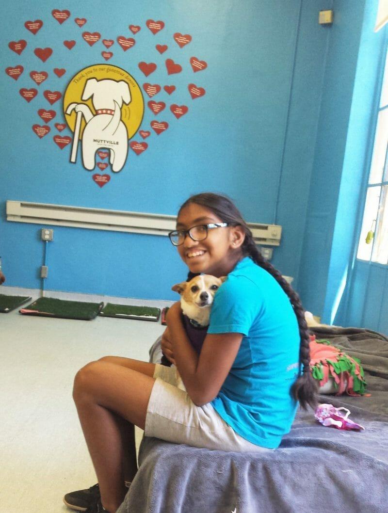 teen activist happy dogs