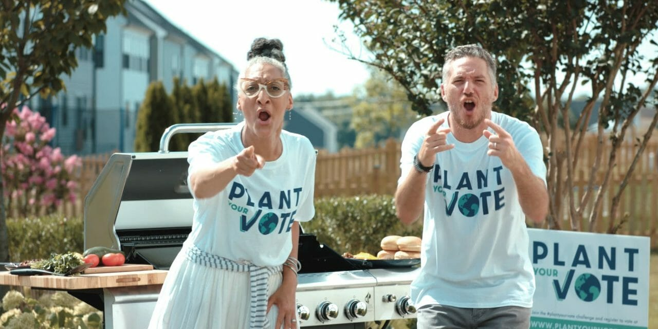 Celebrity Chefs' 'Plant Your Vote' Campaign Inspires People to Vote with Plant-Based Meals