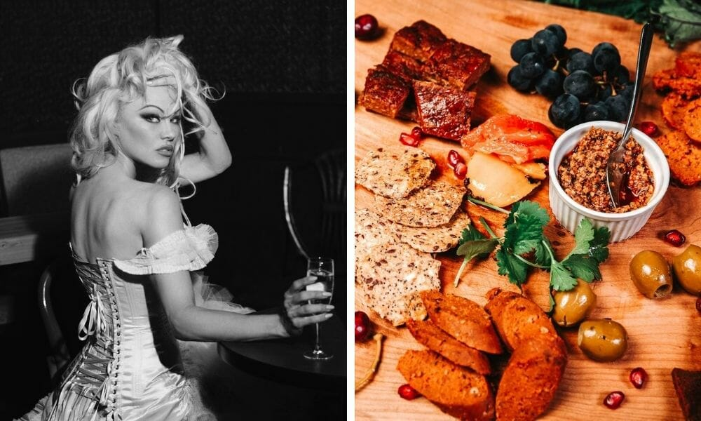 Pamela Anderson Teams Up with Plant-Based 'Butchers' to Raise Awareness for Animals