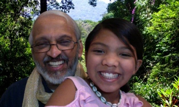 10-Year-Old Girl and Her Grandpa Given First 'Homo Ahimsa' Award for Their Vision of a Vegan World