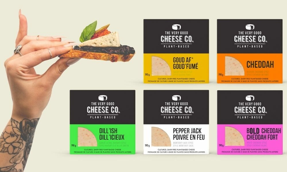 Very Good Food Company Introduces Brand New Plant-Based Cheeses
