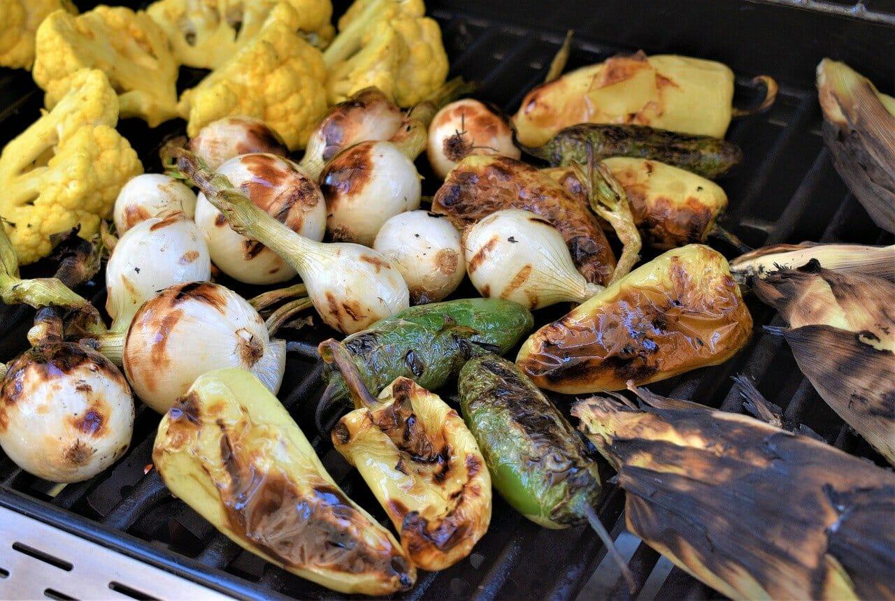 vegan grilled recipe vegetables