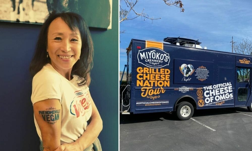 'Vegan Cheese Queen' Miyoko Schinner on Growing Up Japanese American, Battling Big Ag, and Starting A Sanctuary