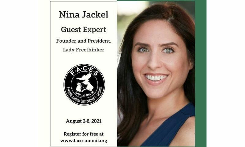 LFT Founder Nina Jackel to Speak At Farmed Animal Conference E-Summit 2021