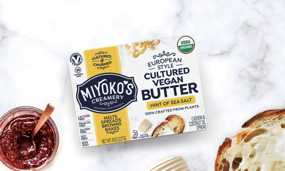 In California Court Win, Miyoko's Creamery Allowed to Use 'Butter' in Labeling