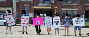 Gellman protestors